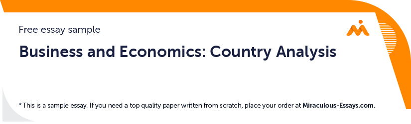Business and Economics: Country Analysis